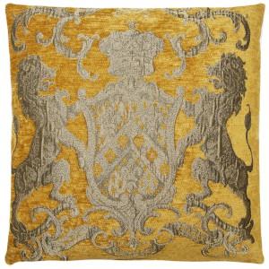 Dekokissen, Kissen, Farbe ochre/goldenrod, Größe 55 x 55 cm