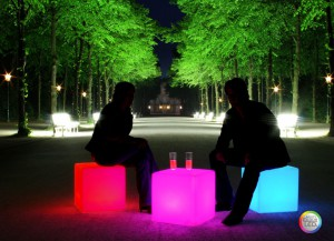 Cube LED Accu Outdoor