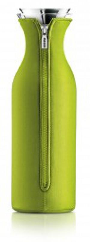Kühlschrank Karaffe 1,4 L Glas transparent Kunststoff grün/ limette