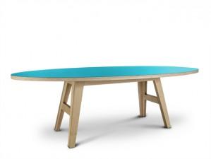 Tisch türkis oval,  Esstisch oval türkis, Esstisch in fünf Größen