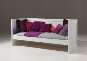 Bettsofa  Hampton  im Landhausstil, Tagesbett in weiß