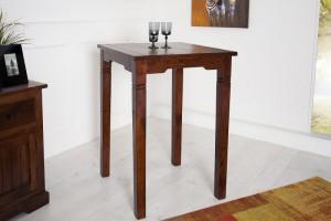 Bartisch aus Massivholz,  Stehtisch,  Höhe 105 cm