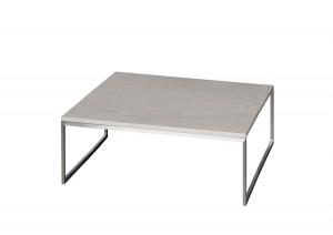 Beistelltisch, Couchtisch Farbe beige-grau, Maße 100x100 cm