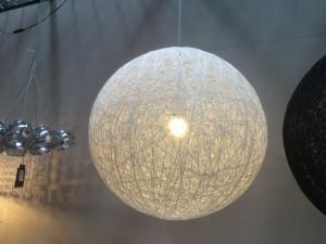 Hängeleuchte Farbe Weiß, Pendelleuchte, Ø 60 cm