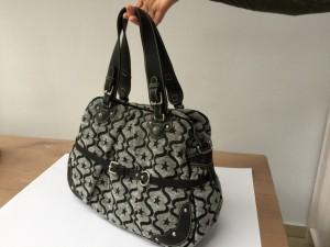 Damentaschen schwarz-grau von Leontine Hagoort