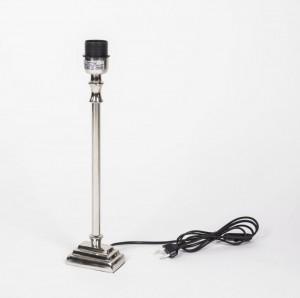 Lampenfuß verchromt für Tischleuchte, Höhe 43 cm
