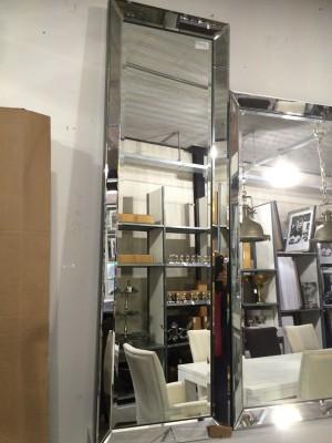 Spiegel, Wandspiegel, Maße 145 x 40 cm