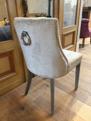 Stuhl mit Ring, Stuhl gepolstert Landhaus