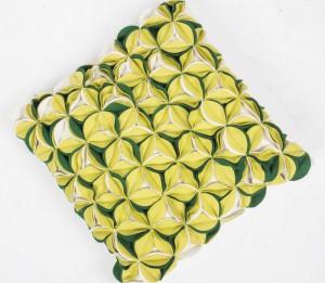 Sofakissen grün, Dekokissen, Kissen grün, Größe 40 x 40 cm