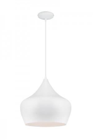 Hängelampe Weiß, Hängeleuchte, Pendelleuchte, Durchmesser 38 cm