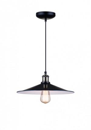 Hängeleuchte aus Metall, Farbe Schwarz-Antikgold-Weiß, Pendelleuchte, Durchmesser 35 cm