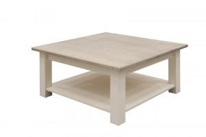 Couchtisch im Landhausstil, Tisch, Maße 100x100 cm