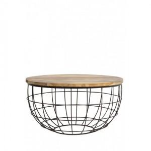 couchtische beistelltische retro industrie style m bel. Black Bedroom Furniture Sets. Home Design Ideas