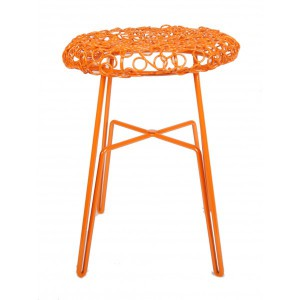 Hocker Metall, Hocker orange