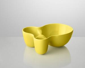 Vitamin Container  in gelb (in verschiedenen Größen)