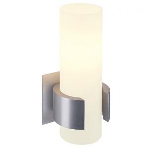 Wandleuchte Aluminium/ Glas