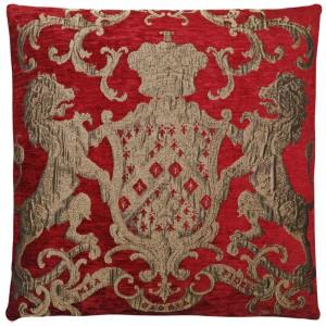 Dekokissen, Kissen, Farbe rot, Größe 55 x 55 cm