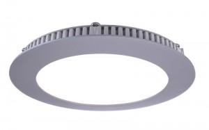 LED Deckeneinbaueuchte aus Aluminium, Glas, weiß, silber, 6000K