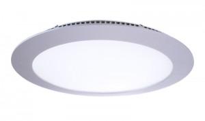 LED Deckeneinbaueuchte aus Aluminium, Glas, weiß, silber, 4000K