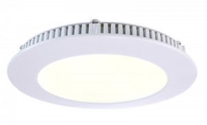 LED Deckeneinbaueuchte aus Aluminium, Glas, weiß, 2700K