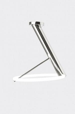 LED Deckenleuchte Metall chrom