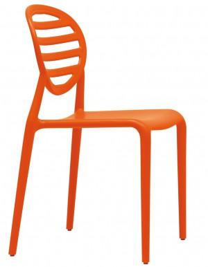 Gartenstuhl, Stuhl Outdoor, Farbe orange