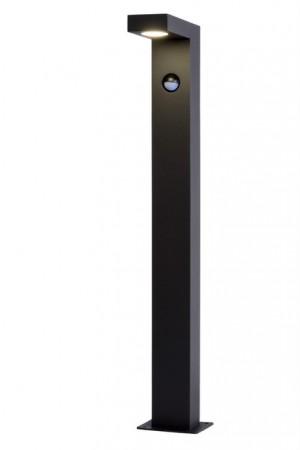 LED Gartenleuchte schwarz, Außenstandleuchte schwarz, LED Standleuchte außen schwarz, Höhe 60 cm