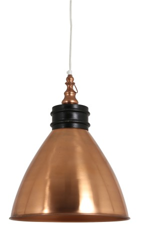 Pendelleuchte Farbe Kupfer, Hängeleuchte, Ø 38 cm
