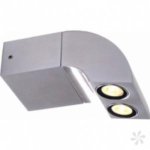 LED Wandleuchte aus Aluminium IP54