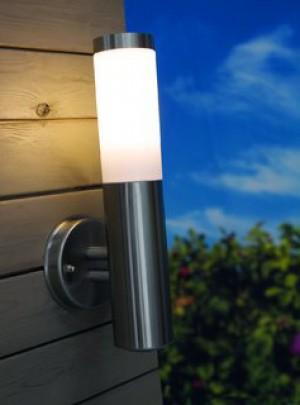 Wandleuchte rostfreier Edelstahl PVC Outdoor