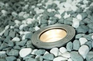 Einbauleuchte rostfreier Edelstahl PVC Glas modern Energiesparer