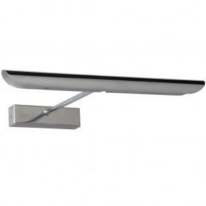 LED Bilder- / Wandleuchte Metall chrom modern