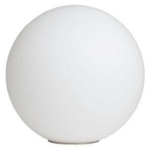 Tisch- / Bodenleuchte Glas weiß modern Ø 20 cm