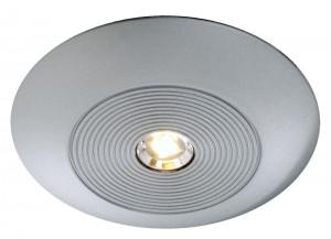 OSLON-LED Möbelaufbauleuchte aus Aluminium, matt-silber
