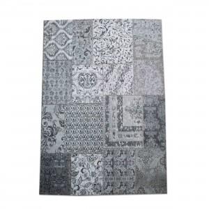 Teppich Patchwork grau, Größe 170 x 240 cm