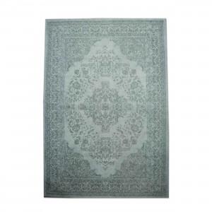 Teppich Ornament Farbe Türkis, Größe 170 x 240 cm
