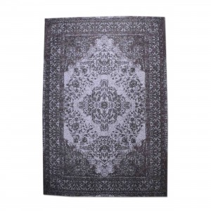 Teppich Ornament Farbe Violett, Größe 170 x 240 cm