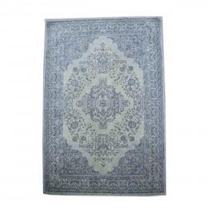 Teppich Ornament Farbe Blau, Größe 170 x 240 cm