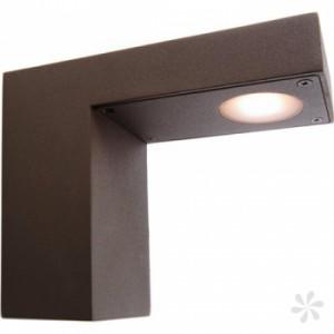 LED Wand-Außenleuchte, Outdoorleuchte Alu Druckguß, Farbe anthrazit