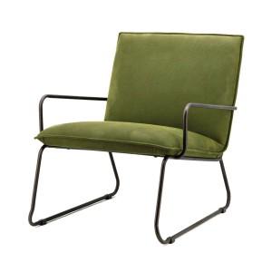 Sessel mit Armlehnen, Sessel Industriedesign in grün
