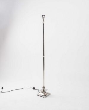 Lampenfuß für eine Stehlampe, Farbe Silber, Höhe 137 cm