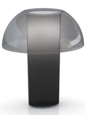Design Tischleuchte, Tischlampe aus Polycarbonat,  Ø 42 cm