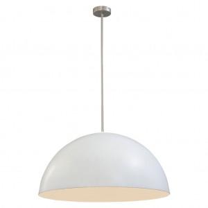 Moderne Hängeleuchte Lampenschirm aus Metall, Hängelampe Farbe weiß, Durchmesser 80 cm
