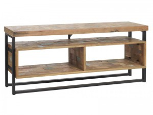 TV Schrank im Industriedesign, Lowboard, Breite 125 cm