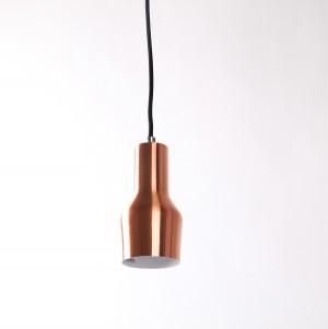 Moderne Pendelleuchte, Hängelampe, Farbe Kupfer