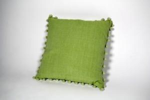 Kissen grün + Inlett