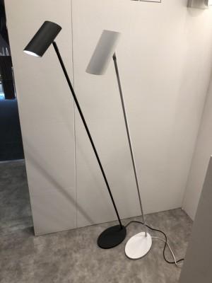 Stehleuchte schwarz , Stehlampe schwarz Metall