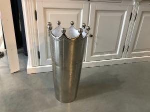 Schirmständer Metall, Schirmständer Silber Landhaus