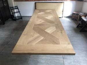 Tischplatte Eiche massiv, Tischplatte rechteckig Eiche, Länge 240 cm