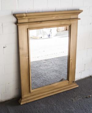 Spiegel Massivholz, Maße 93x110 cm